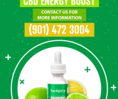 CBD Hempcy Energy Tincture in Memphis TN
